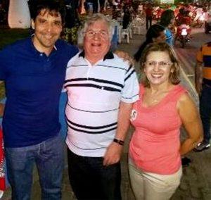 Casal Prefeito Abelardo/Rita Rodrigues Acontece com o Deputado parceiro do Alto do Rodrigues  Felipe Maia.