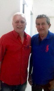 Dr Laire Rosado Acontece com Chico funcionário de Guerra de O Mossoroense e 93 FM/Mossoró.Gente que Faz & Acontece!