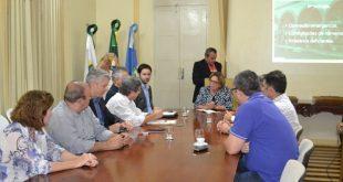 Reunião foi realizada na manhã desta terça-feira na prefeitura de Mossoró