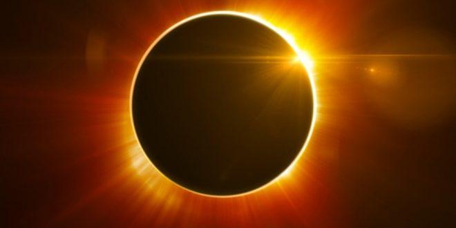 Eclipse solar terá início às 9h deste domingo