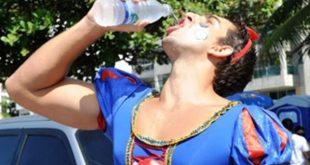 Hidratação é primordial para que o folião se mantenha saudável durante a folia de momo