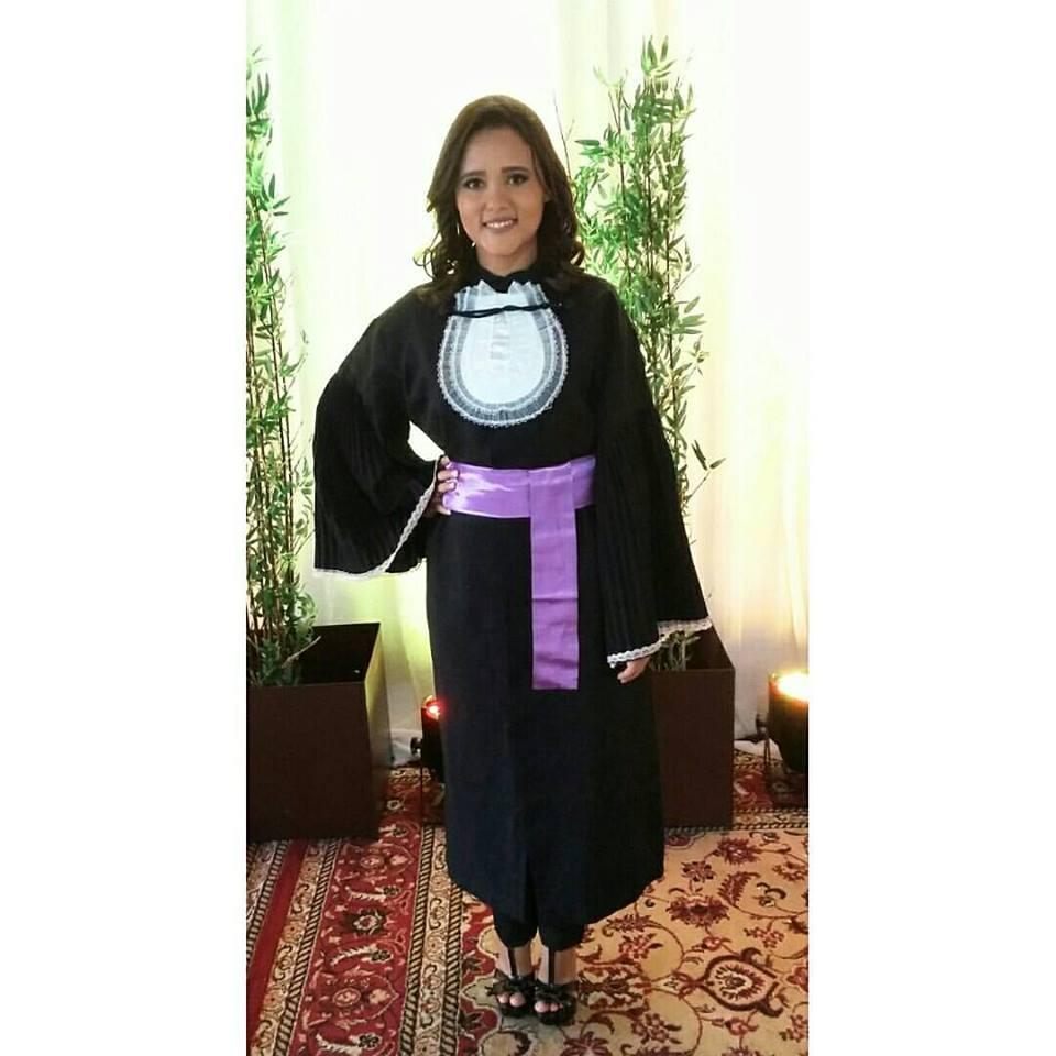Outra formanda querida do curso de Pedagogia é a amiga Raysla Sales para quem desejamos sucesso. Parabéns!