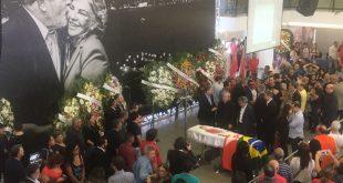 04/02/2017- São Bernardo do Campo- SP, Brasil- Velório de dona Maria Letícia no Sindicato dos Metalúrgicos do ABC. Foto: Filipe Araújo