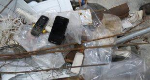 Somados os itens removidos dos pavilhões 4 e 5 de Alcaçuz, os fuzileiros retiraram 2.870 objetos proibidos das unidades prisionais potiguares (Foto: Divulgação Marinha).