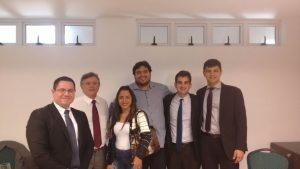 Alcinete Morais, Secretária Geral da Câmara, e Jaime Carvalho, Controlador, participaram do Curso Gestão Pública, Controle Interno e Externo dos Atos Administrativos, em Natal.