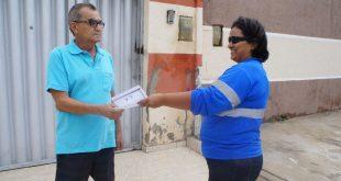 Campanha esclarece regras  para atuação das equipes em residências