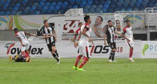 ABC dominou a partida e marcou três gols Foto: FNF