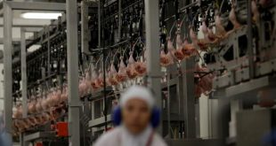 Unidade da empresa JBS na cidade da Lapa, no Paraná. A empresa é um dos alvos da Operação Carne Fraca, que investiga irregularidades em frigoríficos no país Ueslei Marcelino/Reuters/Direitos reservados