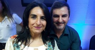 Margarita Arieta e seu irmão Pablo Férnandez no Workshop Masterop.
