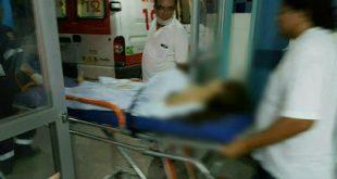 Menina atingida com tiro no tórax foi socorrida por equipe do Samu - Foto: Passando na Hora