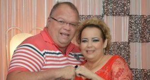Joãozinho Escóssia deixa legado de boas amizades. Na foto com a colunista social Marilene Paiva