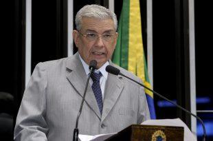 Garibaldi Filho se pronuncia no plenário do Senado Federal durante sessão Foto: Waldemir Barreto/Agência Senado