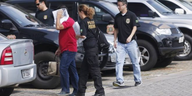 Polícia federal prisões