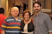 Rosalba, Carlos e Cadu