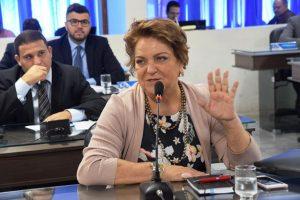 Sandra na sessão de 23 de março