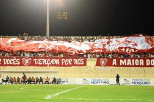 Torcida do Potiguar comemora bom momento no Campeonato Estadual  Foto: Wilson Moreno