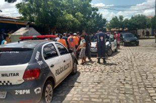 Crime ocorreu no cruzamento das ruas Anatália de Melo Alves com a Afonso Pena (Foto: Passando na Hora).