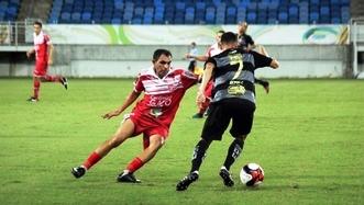 Equipe mossoroense ganhou folego na reta final da disputa com duas importantes vitórias (Foto: Diego Simonetti/Santa Cruz)
