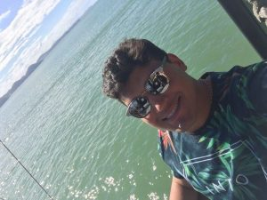 O agente Jonathan Morais encerrando mais um ciclo de viagens pelo Sul do Brasil.