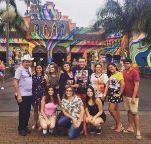 Através das queridas irmãs Iêda e Inalda Silva, saúdo um dos grupos do Fan Tour da Exact Viagens.