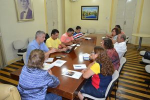 Rosalba reunião secretarios