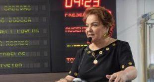 Vereadora Sandra discursa na tribuna da Câmara Foto: Edilberto Barros/CMM