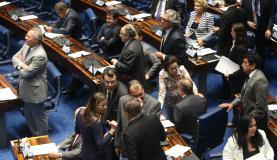 Senado aprovou por unanimidade primeira votação da PEC que determina o fim do foro privilegiado para autoridadesAntonio Cruz/Agência Brasil