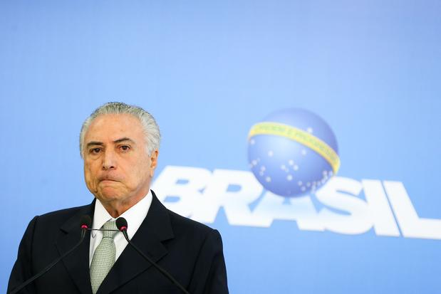 Na conversa, Temer e Batista conversam sobre a situação do ex-deputado Eduardo Cunha (Foto: Agência Brasil).