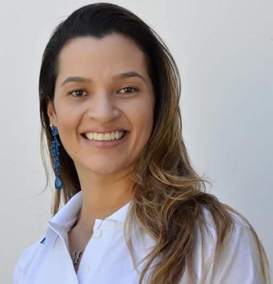 Mona Lisa Torquato nos preparativos 1ª Conferência Regional de Saúde das Mulheres da 6ª Região de Saúde.