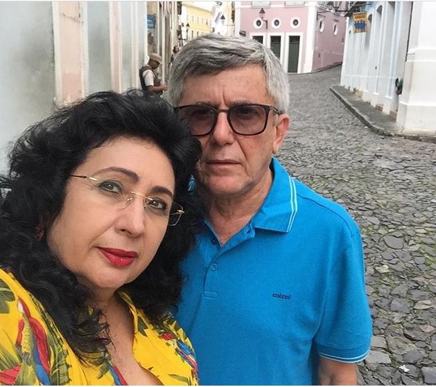 A colunista Soraya Vieira, aniversariou no dia 20 de maio, e curtiu a data com a família em Salvador. Aqui no clique com o esposo José Vieira. Parabéns!!!