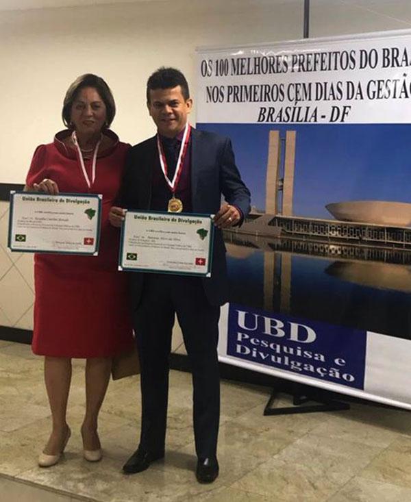 Entre os melhores do Rio Grande do Norte a prefeita Rosalba Ciarline Alves em primeiríssimo lugar e o nosso Prefeito Junior Alves que ficou em nona posição, nos cem primeiros dias de administração. Parabéns!
