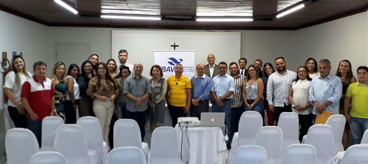 Cerca de 20 agências participaram da reunião realizada em Mossoró - Foto - Cristina Lira