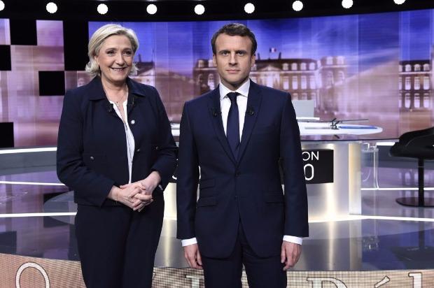 Macron e Le Pen