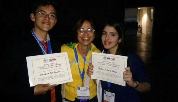 Estudantes do RN ganham prêmio internacional em feira de engenharia nos EUA
