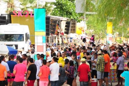 Festa transcorreu com tranquilidade e registro apenas de pequenas ocorrências