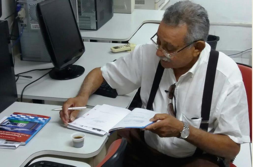 Wilson Bezerra de Moura trabalhou por cerca de um ano na finalização do livro