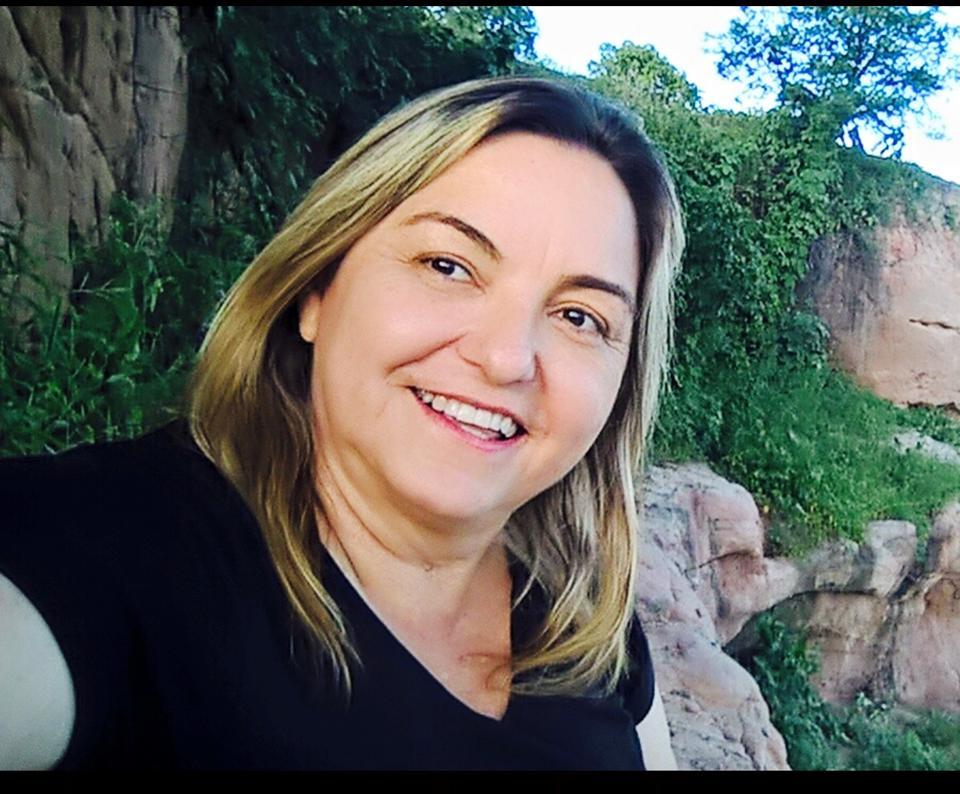 A nova diretora do Hospital Regional de Apodi, Aloma Tereza, ex-secretária de assistência e desenvolvimento social de Apodi.