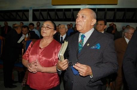 Missionário José dos Santos Lira e esposa, irmã Ednalva Lira