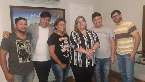 Em Reunião com a Prefeita de Martins, Olga Fernandes, discutimos a participação do Bar e Petiscaria Point VIP no 11º Festival Gastronômico da cidade. Já é sucesso!