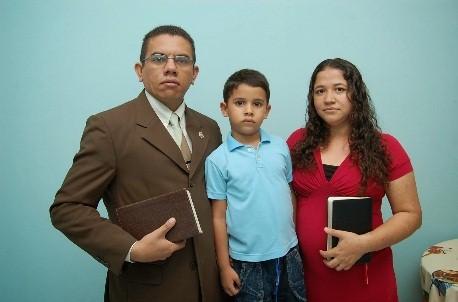 Missionário Enéas Rodrigues e esposa, irmã Navegantes Benevides.