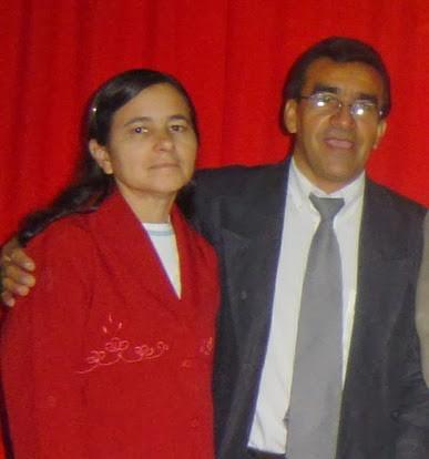 Missionário Milton Oliveira e esposa, irmã Lourdes Oliveira.