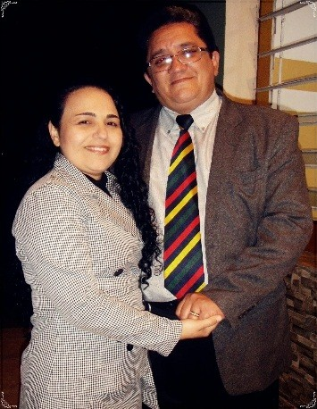 Missionário Jerônimo Lemos e esposa, irmã Helena Lemos.