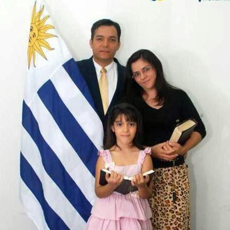 Missionário William Fonseca e esposa, irmã Girleide Lima.