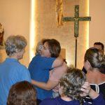 Larissa Rosado comemora aniversário com celebração na igreja São José