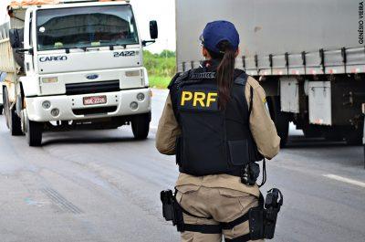 A fiscalização será intensificada nas rodovias federais de todo o país, especialmente em pontos estratégicos com maior incidência de acidentes