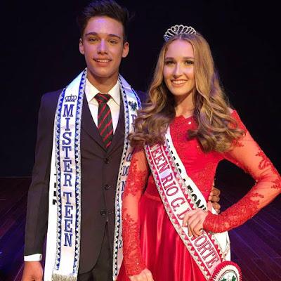 Jonas Mack e Alice Madeleine vão representar o Rio Grande do Norte nos concursos Miss e Mister Teen Brasil que acontecera em outubro, em São Paulo. Desejamos sucesso!