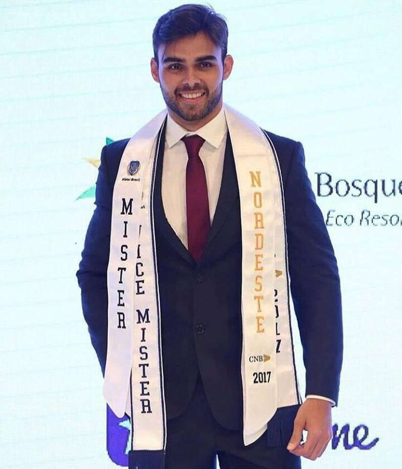 O Mister RN Leonardo Nobre ficou em 2º lugar no concurso Mister Brasil 2017 e recebeu o título de Mister Nordeste 2017. Parabéns!!!