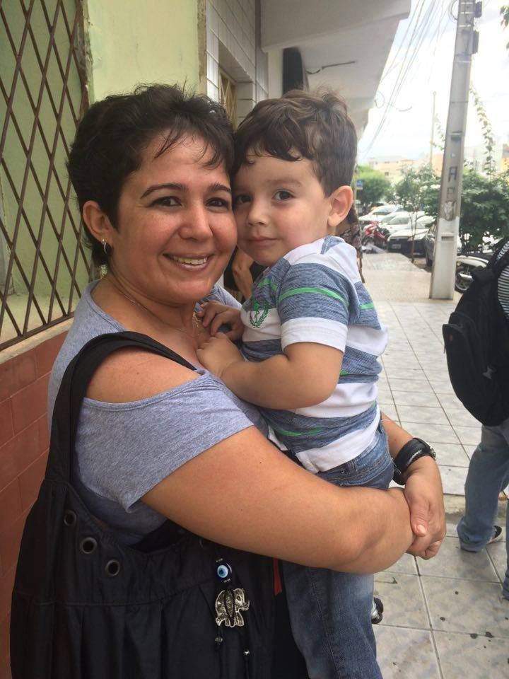 Muito amor envolvido entre a mãe Syomara Vieira e seu pequeno Benjamin que amanhece de idade nova amanhã e a coluna deseja toda felicidade que houver. Vivas!