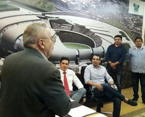 AUDIÊNCIA Pública em Natal leva grupo da Situação em Assú liderado pelo Deputado George Soares e o Prefeito Gustavo Montenegro Soares a busca por melhorias para o Município.