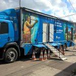 Caminhão da Cosern trocará lâmpadas ineficientes por LED em Assú